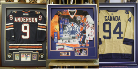 Mr. Frame custom jersey frames