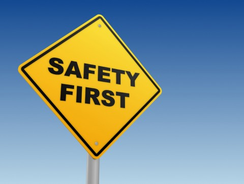 Site and safety signs in Edmonton Alberta